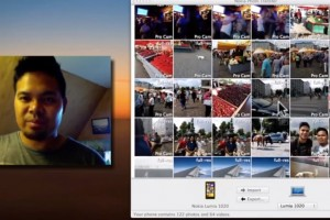 Video: Nokia Photo Transfer for Mac demoed with Nokia Lumia 1020