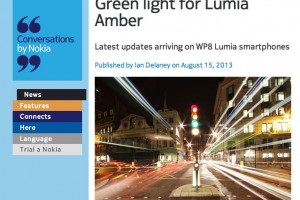 NokConv: Green light for Lumia Amber – Software Update Live – Nokia Pro Cam officially available – Promo videos