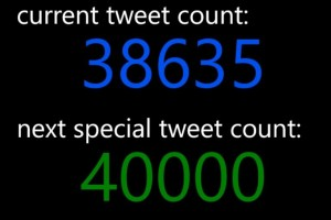 Lumiapps: TweeCoMinder for #WP8 – Track your tweet count