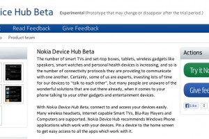 BetaLabs: Nokia Device Hub Beta