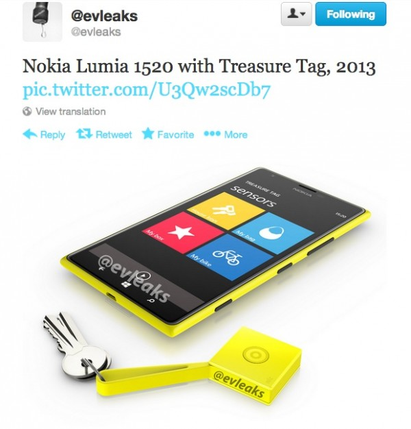 Also features NFC nokia treasure tag where to buy