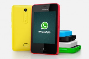 Whatsapp Released for Asha 501 Via Software Update