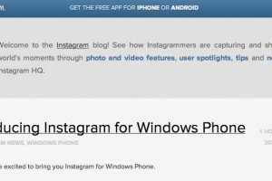 Introducing Instagram for Windows Phone – Beta available in store