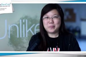Video: Jolla Community Chief Carol Chen at SmartDevCon 2013 on Jolla