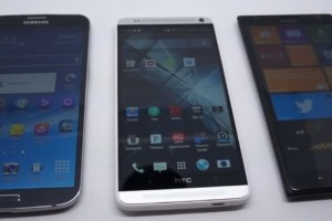 Video: 5.9″ HTC One Max vs 6.0″ Nokia Lumia 1520 vs 6.3″ Galaxy Mega