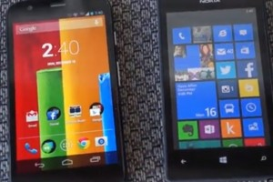 Video: Nokia Lumia 520 vs Moto G (Nokia Lumia the better value phone)