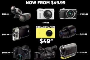 41 Megapixels for $49.99: AT&T Nokia Lumia 1020…