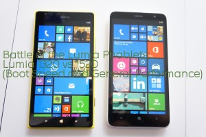Battle of the Lumia Phablets: Lumia 1320 Vs 1520 Performance Comparison