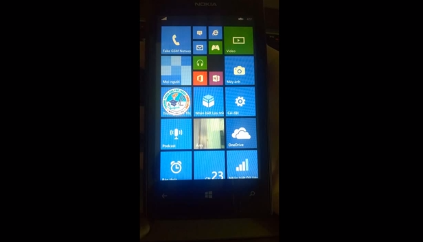Video: WP 8.1 Running on Lumia 520 With Three Columns of Medium Tiles