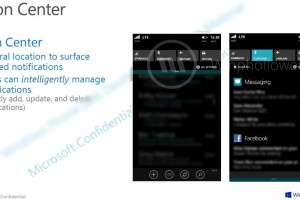 Windows Phone 8.1 Action Center Leaks here's how it looks
