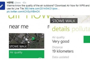 "Lumiapps: Assess Air quality outdoors with HERE powered ""Air Now"""