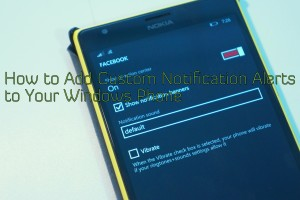 Video: How to Set Custom Notification Tones for Specific Apps in Window Phone