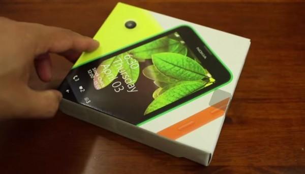 nokia lumia 630 unboxing