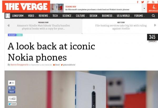 essay on nokia mobile