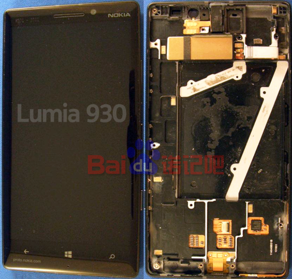 Verizon Nokia Lumia 930 Inside a Nokia Lumia 930