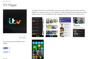 ITV Player finally joins BBC and Channel 4 in bringing Catchup to WP8
