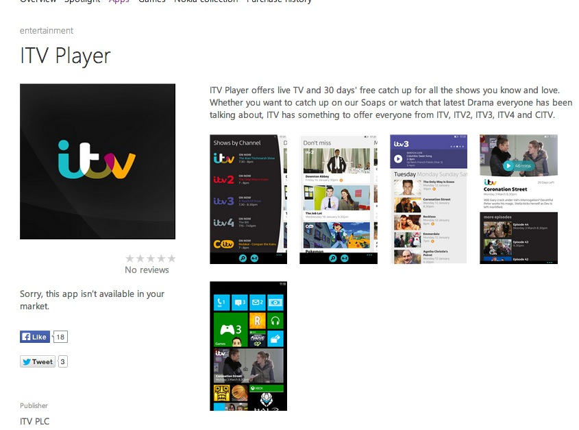 Itv player ad blocking software detected lh