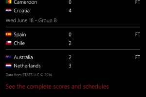 Lumia Tips: FIFA World Cup 2014 Cortana/Bing Requests, Lockscreen and other Apps
