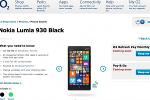 Nokia Lumia 930 coming soon on EE, O2, Phones4U