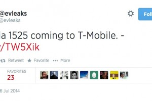 LeakyLeak: Lumia 1525 – heading to T-Mobile