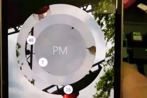 Video: Preview of the new dynamic Lockscreen app for WP8.1?