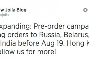 Jolla pre-order expands to Russia, Belarus, Kyrgyz; Hong Kong Soon!