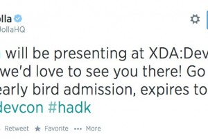 Jolla at XDA:Devcon 2014 – early bird admissions expires today