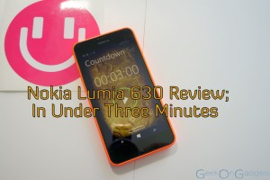 Nokia Lumia 630 Review In Under 3 Minutes