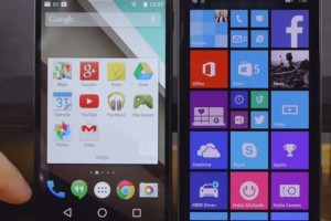 Video: Android L compared to Windows Phone 8.1