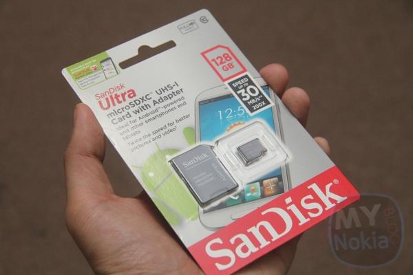 SandiskIMG_1347128GB MicroSD Card