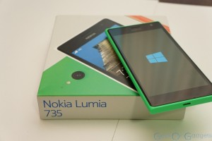 Lumia 735 Unboxing and Hands-on Impressions