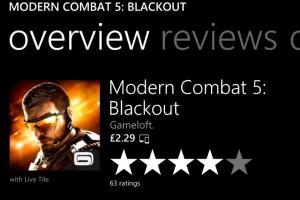 Modern Combat, 50% Off
