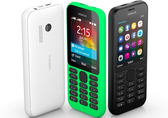 Microsoft announces new Nokia phone: $29 Nokia 215 classic candybar
