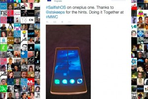 OnePlus One with Jolla SailFish