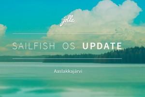 Sailfish OS Update: Aaslakkajärvi #jolla