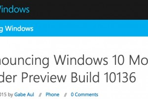 Windows 10 Mobile Insider Preview Build 10136 – One handed use, UI changes, better Cortana and more!