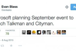 September Launch Event for flagships Talkman and Cityman