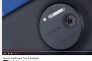 MKBHD explains smartphone camera quality