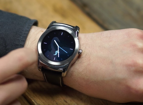 Video: Sailfish Watch Demo on LG Watch Urbane