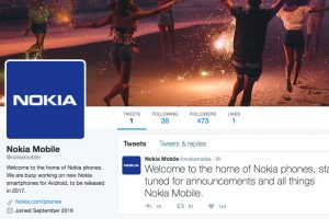Follow @NokiaMobile on Twitter!