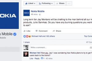 What would you ask Nokia's product lead designer for mobile? #MWC
